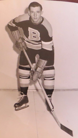 Lorne Ferguson Boston Bruins 1954