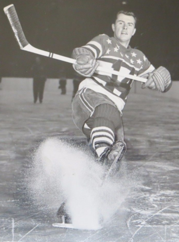 Barry Sullivan St. Louis Flyers 1949 American Hockey League
