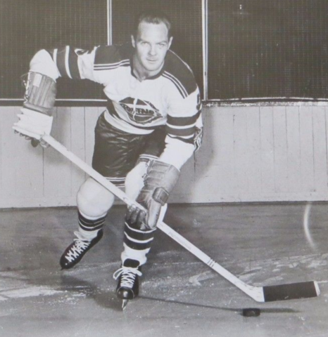 Jack Bownass Buffalo Bisons 1959 American Hockey League