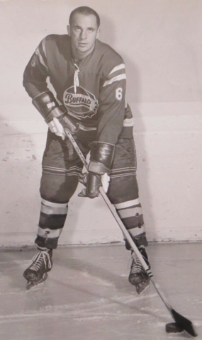 Bob Wilson Buffalo Bisons 1962 American Hockey League