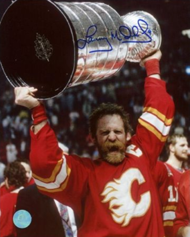 Lanny McDonald Stanley Cup Champion 1989 Calgary Flames