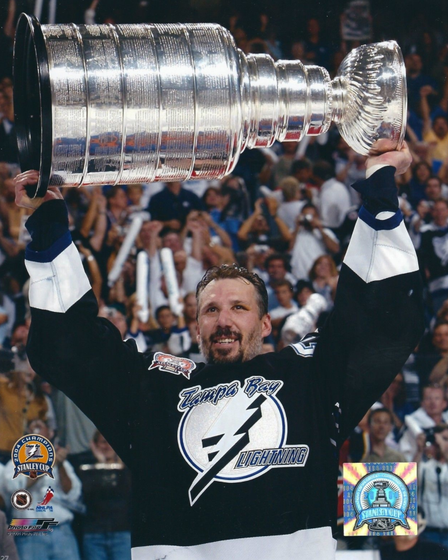 Dave Andreychuk Stanley Cup Champion 2004 Tampa Bay Lightning ... 7026ee4db