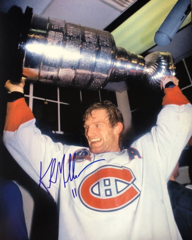 Kirk Muller Stanley Cup Champion 1993 Montreal Canadiens