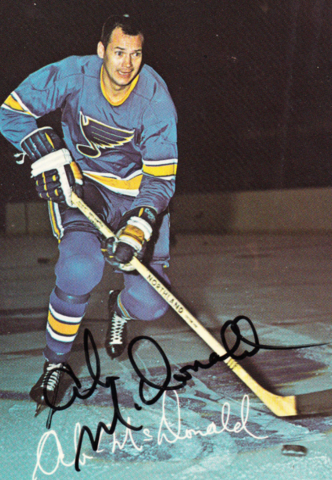 Ab McDonald St. Louis Blues 1969
