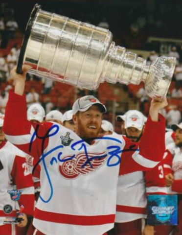 Johan Franzén Stanley Cup Champion 2008 Detroit Red Wings