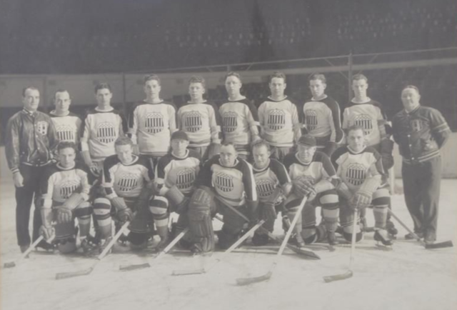New York Americans Team Photo 1933