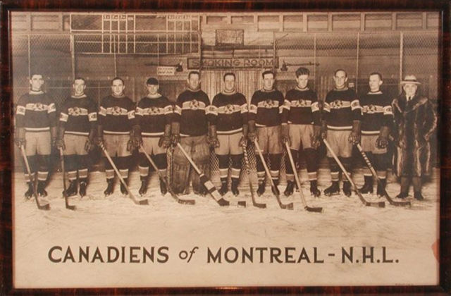 Montreal Canadiens Team Photo 1924