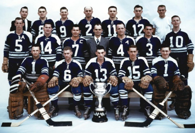 Vernon Canadians Allan Cup Champions 1956