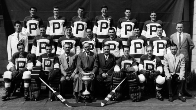 Penticton Vees 1954 Allan Cup Champions