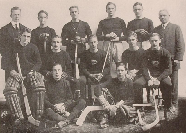 Princeton Tigers Hockey Team 1913 Princeton University Hockey Team