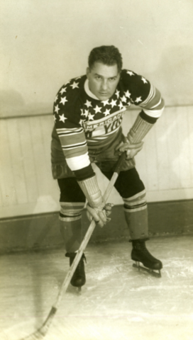 Bill Holmes New York Americans 1929