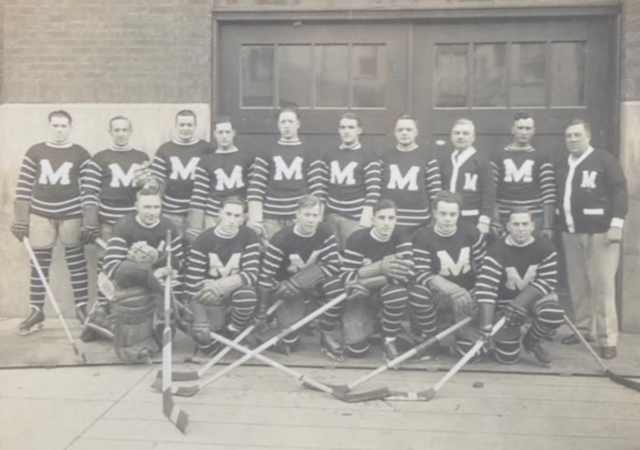 Montreal Maroons Team Photo 1929