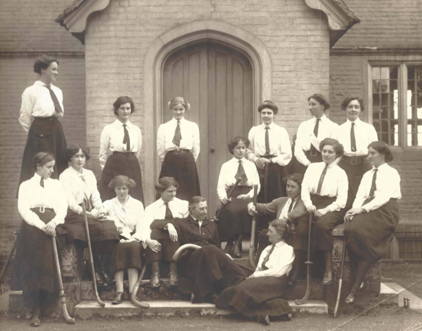 "Antique Ladies Field Hockey team 1905 ""The Pilgrim's"""