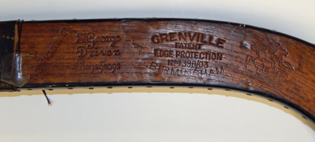 Grenville Hockey Stick Logo and Trademark 1908