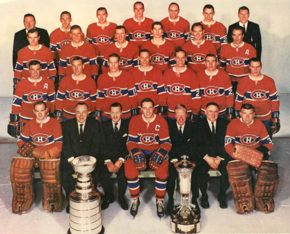 Montreal Canadiens 1966 Stanley Cup Champions