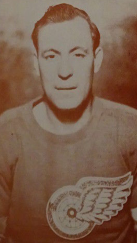 Mud Bruneteau 1942 Detroit Red Wings