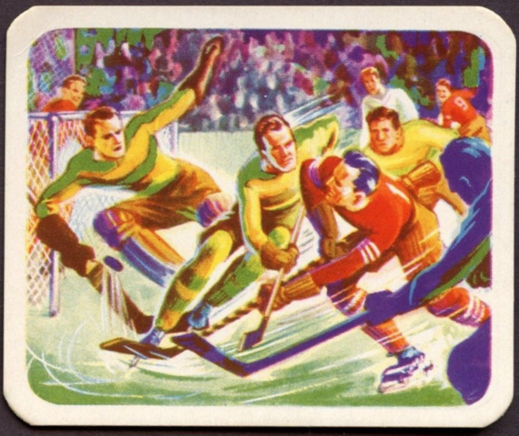 Cracker Jack Hockey Card No.6 1949