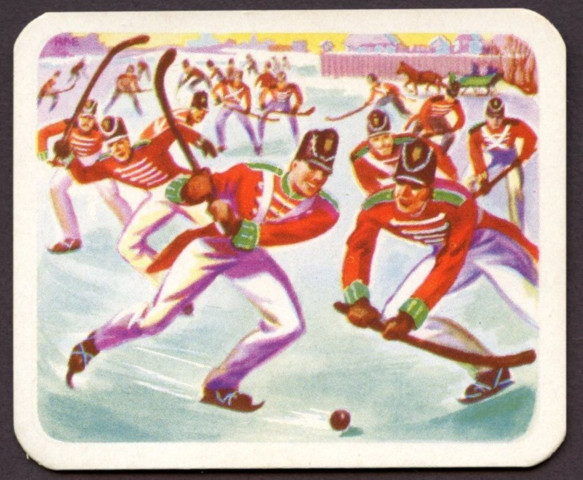 Cracker Jack Hockey Card No.5 1949