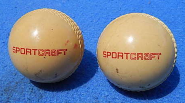 Vintage Sportcraft Field Hockey Balls 1950s Chingford Red Seal