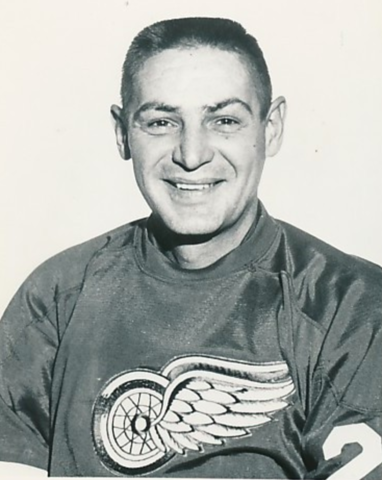 Terry Sawchuk Detroit Red Wings Goalie 1960s
