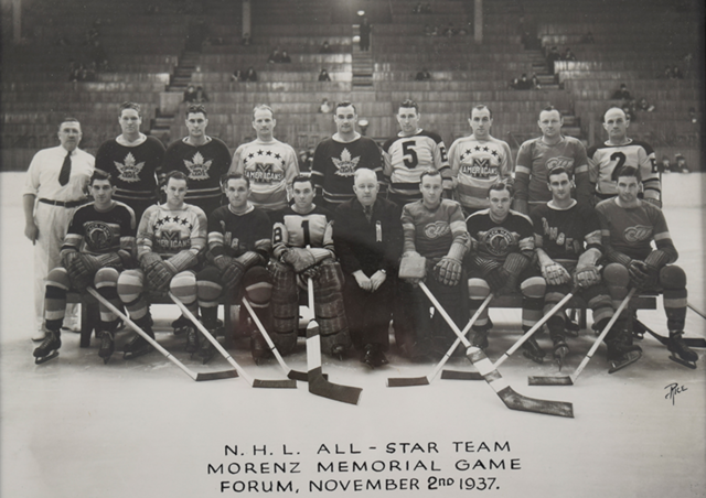 N.H.L. All-Star Team Howie Morenz Memorial Game 1937
