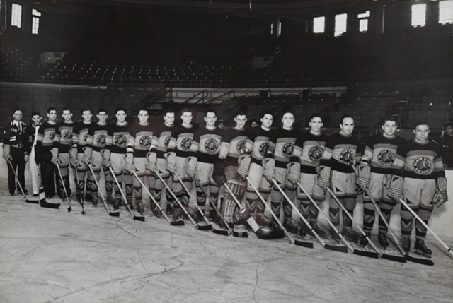 Chicago Black Hawks Team Photo 1935