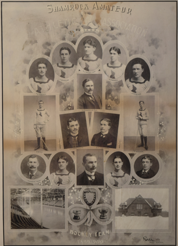 Montreal Shamrocks 1900 Stanley Cup Champions
