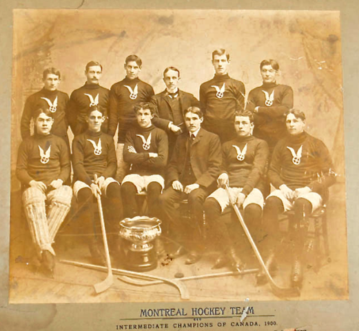 Montreal Hockey Team 1900 Intermediate Champions of Canada