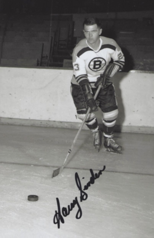 Harry Sinden Minneapolis Bruins 1964 Central Hockey League