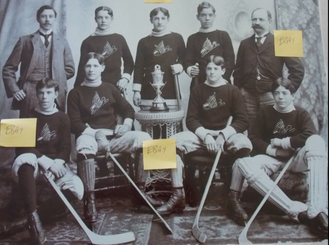Toronto Wellingtons 1896 Cox Cup Champions Toronto Wellington Hockey Club