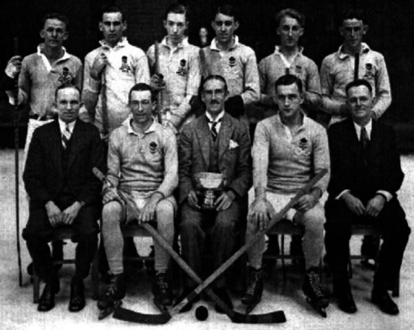 New South Wales Ice Hockey Team 1930 Goodall Cup Champions