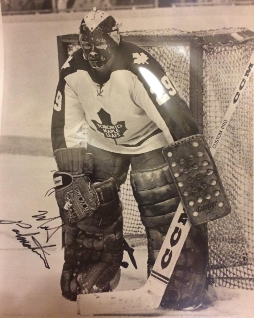 newest 0f483 287ce Mike Palmateer Toronto Maple Leafs Goalie | HockeyGods