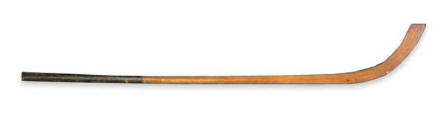 Antique Hickory Caman from a Grantown Shinty Club from early 20th Century