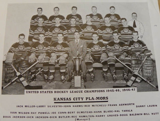 Kansas City Pla-Mors 1946 and 1947 United States Hockey League Champions