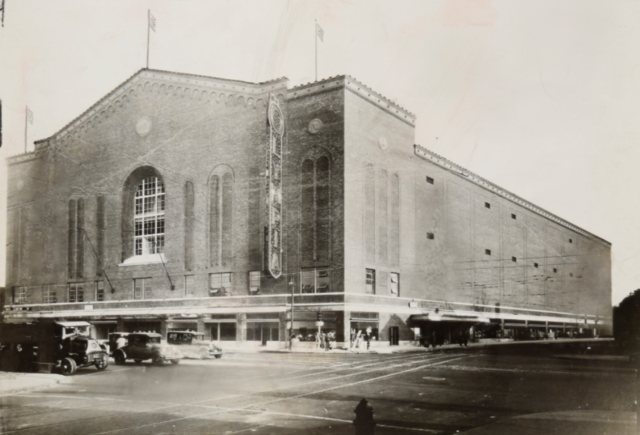 Detroit Olympia 1927 Home of the Detroit Cougars
