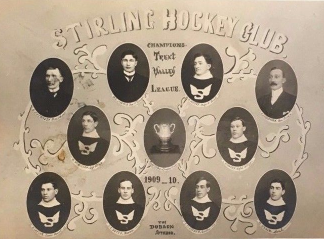 Stirling Hockey Club 1910 Champions of the Trent Valley League