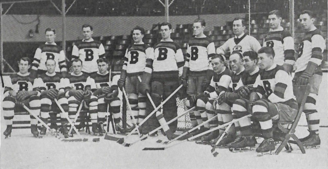 Boston Bruins Team Photo 1932 Boston Garden