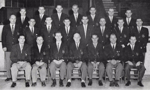 Springfield Indians Team Photo 1959