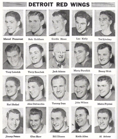 1954 Detroit Red Wings