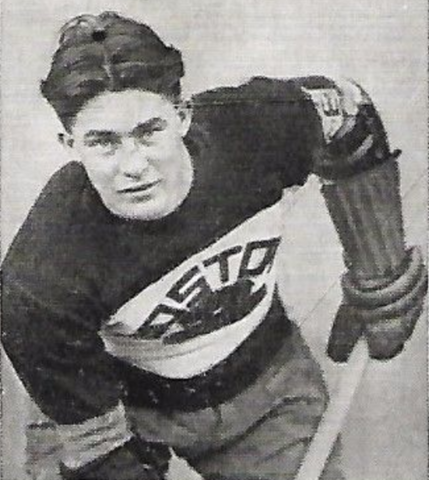 "Jim ""Peggy"" O'Neil 1934 Boston Bruins"