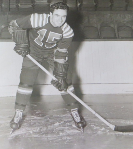 Herb Foster 1941 Cleveland Barons