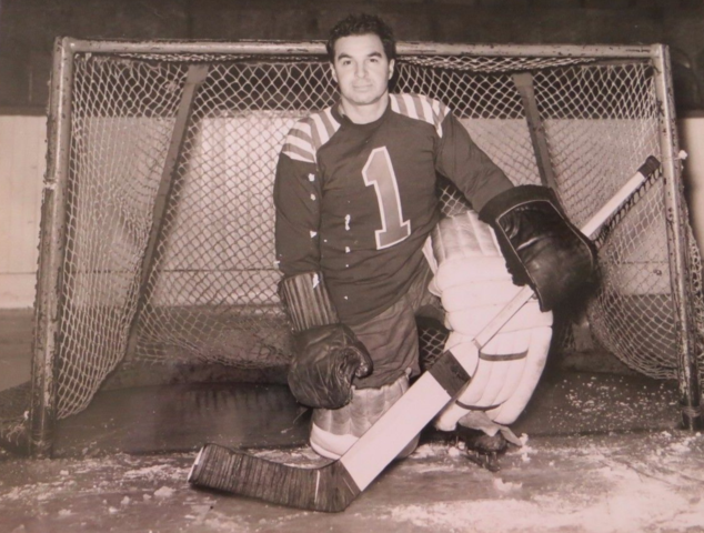 Maurice Roberts 1942 Cleveland Barons