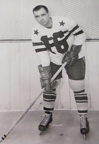 Harry Taylor 1951 Cleveland Barons