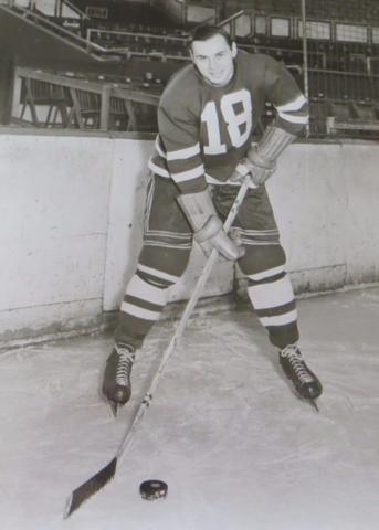 Gordon Haidy 1950 Indianapolis Capitals   HockeyGods