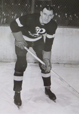 Johnny Sorrell 1937 Pittsburgh Hornets