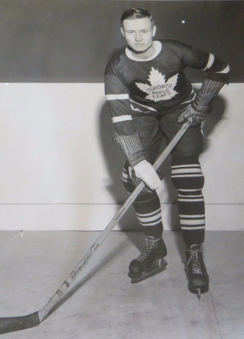 Norman Mann 1939 Toronto Maple Leafs