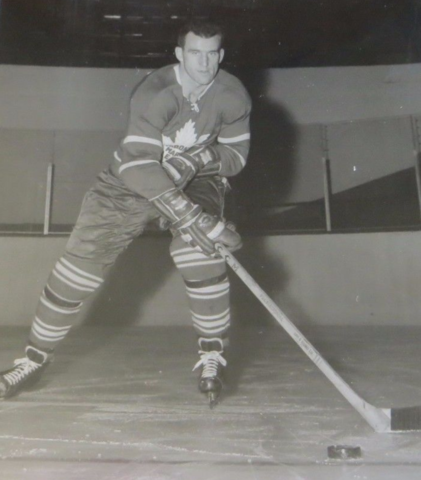 Gerry Ehman 1951 Toronto Maple Leafs