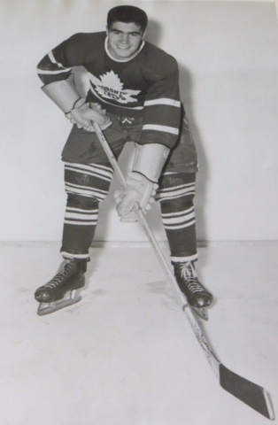 Fleming Mackell 1951 Toronto Maple Leafs