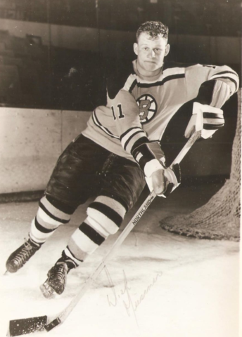 Dick Meissner 1961 Boston Bruins