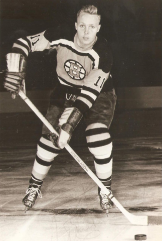 Aut Erickson 1960 Boston Bruins
